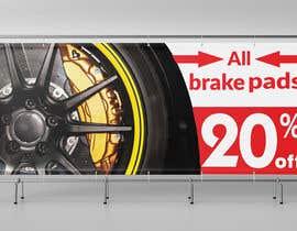 #44 for Brake pad banner af mdhafizur007641