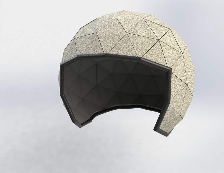 Proposition n°1 du concours casque diamant