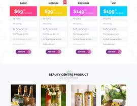 Nro 22 kilpailuun New website layout for a Urban Spa company käyttäjältä utshossm