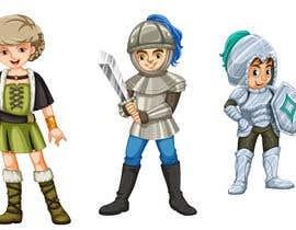 #3 untuk Indie Game 2D Character Design Skeletal Template / Knight oleh NancyWahid00