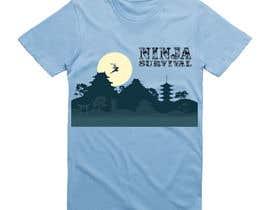 #71 для Ninja Survival t-shirt design от Reza0085