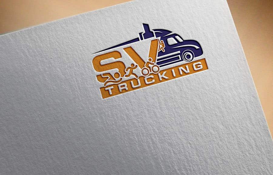 Конкурсная заявка №36 для Logo for a Trucking Company