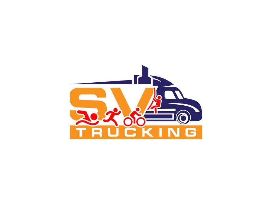 Конкурсная заявка №49 для Logo for a Trucking Company
