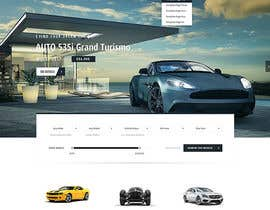 #53 for Design a landing page in PSD for a car dealer's website. by Greenwaber