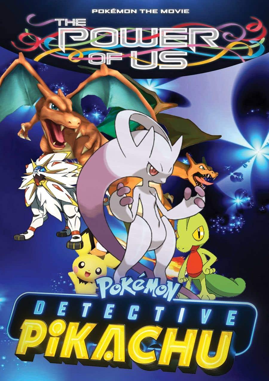 Конкурсная заявка №9 для Create a Pokemon x Avengers Mashup Movie Poster