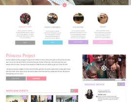 Ashleyperez tarafından Design a Website Mockup for Princess Project için no 136