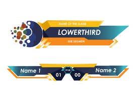 #54 для lowerthird for tv game show Logo (ai) от Artzurra
