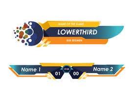 #55 для lowerthird for tv game show Logo (ai) от Artzurra