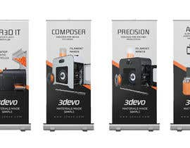 #79 untuk 4 Roll-up Product Banners for Expo (85 x 205 cm) oleh ossoliman