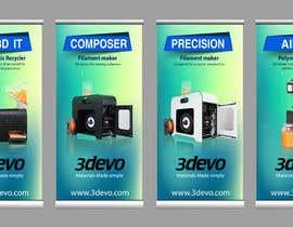 #97 untuk 4 Roll-up Product Banners for Expo (85 x 205 cm) oleh masudrafa