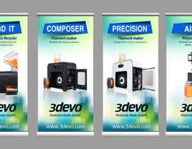 #98 untuk 4 Roll-up Product Banners for Expo (85 x 205 cm) oleh masudrafa