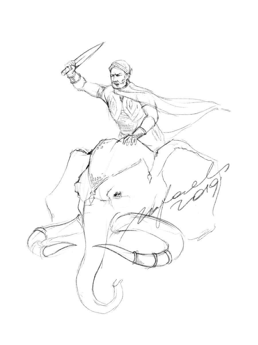 Kilpailutyö #2 kilpailussa Story of Hannibal, the General