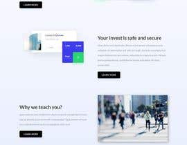 #12 для Redesign a landing/home page от shourovroy23890