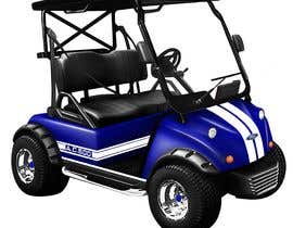 #6 para photoshop touch screen into picture of golf cart por essaarkayy