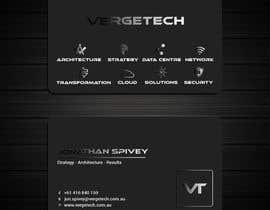 nº 413 pour Design a Business card for I.T. consultant par Designopinion