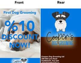 #2 для A5 Dog Grooming Flyer от Alpharabiusity