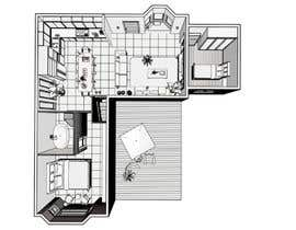 nº 18 pour Remodel my small L-shaped house par Ellen96