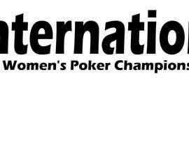 #83 untuk International Women's Poker Championship Logo oleh darkavdark