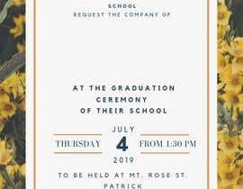 Číslo 1 pro uživatele Graduation Invitation od uživatele DesignerZ506