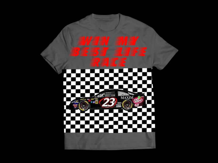 Contest Entry #7 for Turn A Nascar Race Shirt Around T-Shirt Design