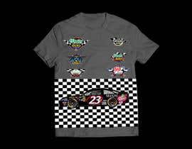 NazmusSakib1 tarafından Turn A Nascar Race Shirt Around T-Shirt Design için no 8
