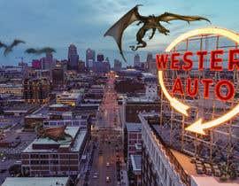 Nro 11 kilpailuun Original Art using Kansas City Iconic Scenes and Fantastical Things. käyttäjältä bagamanovoskar