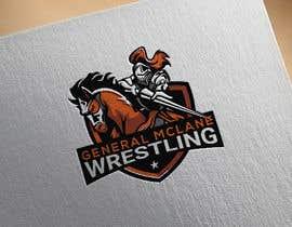#40 untuk General McLane wrestling logo oleh mahfoozdesign