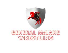 #16 for General McLane wrestling logo by Roybipul