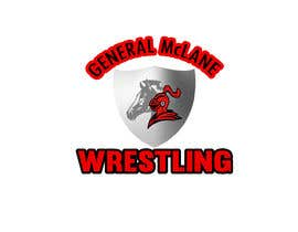#19 for General McLane wrestling logo by Roybipul