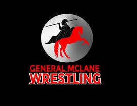 #22 for General McLane wrestling logo by Roybipul