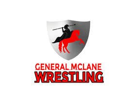 #23 for General McLane wrestling logo by Roybipul