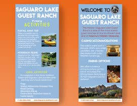 """#3 for create a """"Rack Card"""" of services provided at Saguaro Lake Guest Ranch by sannanv"""