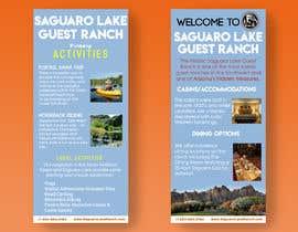 "sannanv tarafından create a ""Rack Card"" of services provided at Saguaro Lake Guest Ranch için no 3"