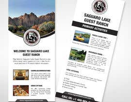 """#12 for create a """"Rack Card"""" of services provided at Saguaro Lake Guest Ranch by moslehu13"""
