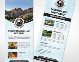 """#13 for create a """"Rack Card"""" of services provided at Saguaro Lake Guest Ranch by moslehu13"""
