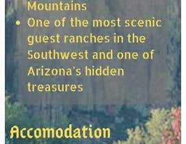 """#2 for create a """"Rack Card"""" of services provided at Saguaro Lake Guest Ranch by dinaiffarina"""