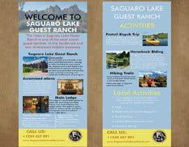 "sohelrana210005 tarafından create a ""Rack Card"" of services provided at Saguaro Lake Guest Ranch için no 10"
