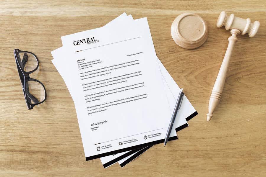 Proposition n°41 du concours Create a Letterhead