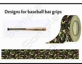 #2 для Designs for baseball bat grips needed от shahidullah79