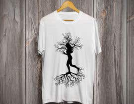 "#9 cho T-Shirt black and white vector design silhouette for ""Stronger than Yesterday"" bởi Tamim08"