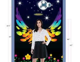 #38 for ILLUSTRATION: WALL MURAL OF WINGS by alam1984