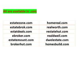 #4 для Domain Name For Online Real Estate Brokerage от jannat319