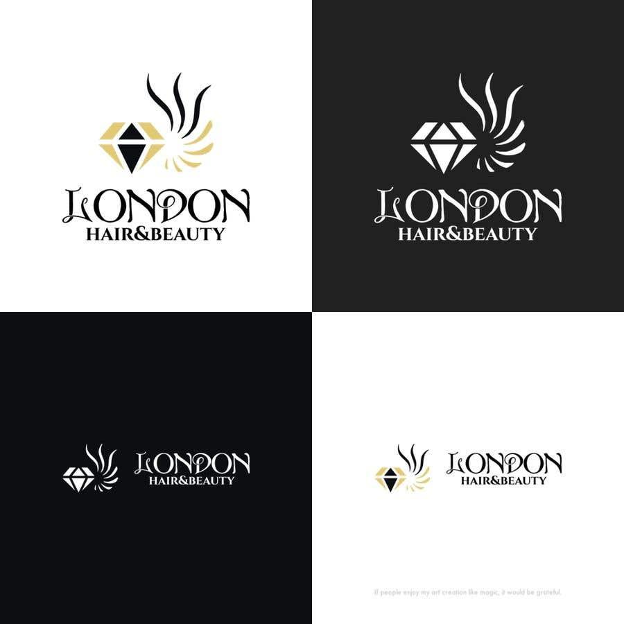 Konkurrenceindlæg #161 for LDN Hair & Beauty Logo Design