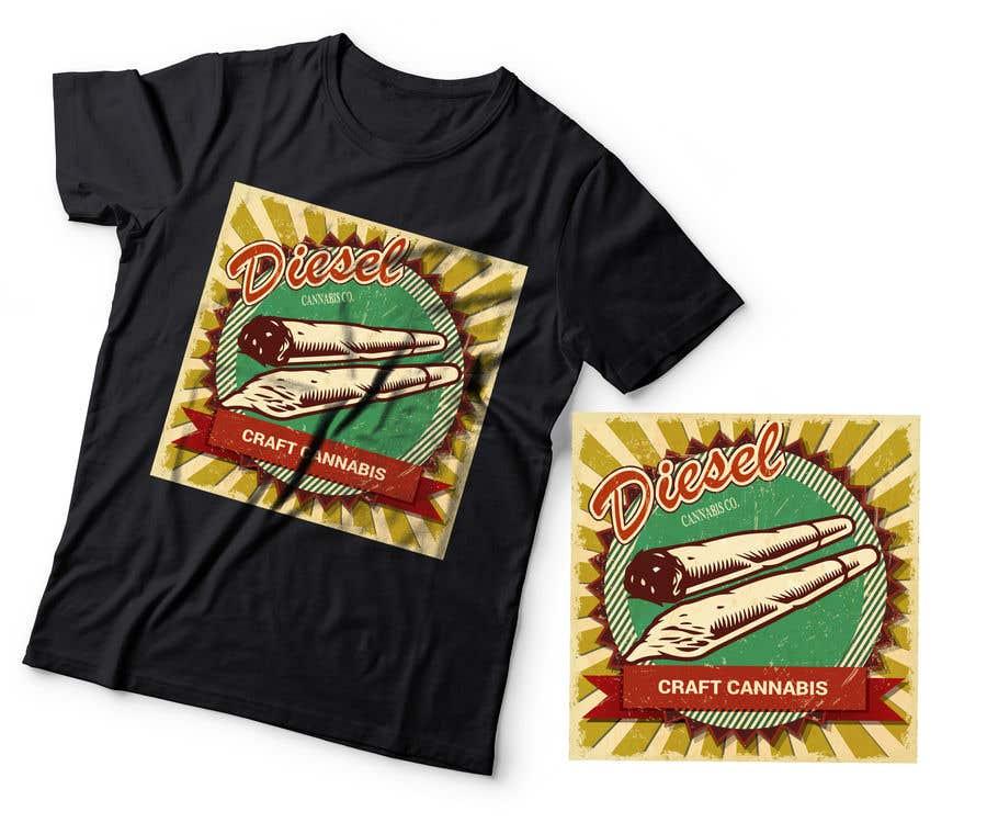 Kilpailutyö #33 kilpailussa diesel shirt
