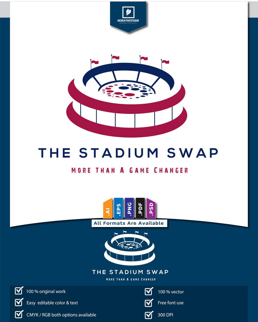 Konkurrenceindlæg #141 for The Stadium Swap Logo