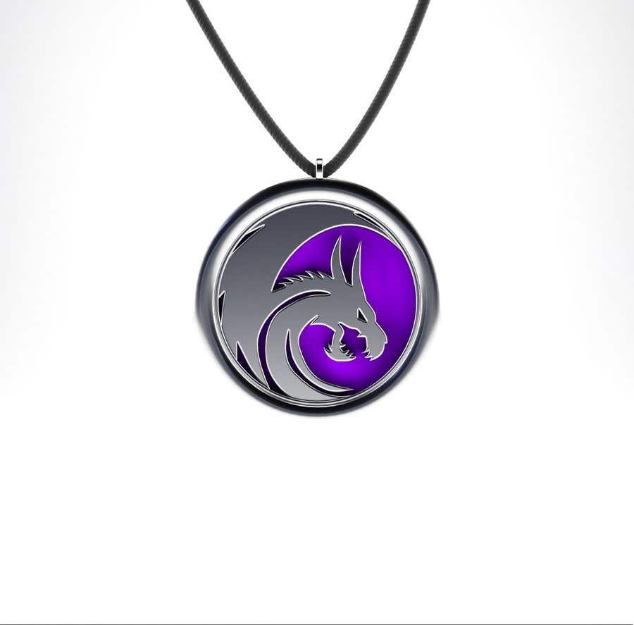 Penyertaan Peraduan #24 untuk Stainless Steel Jewelry Designs - Dragon Oil Diffuser Locket