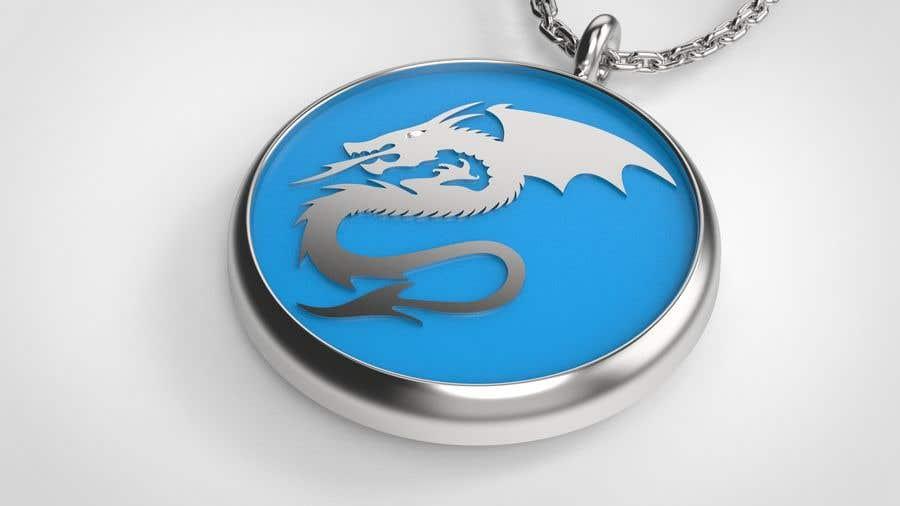 Penyertaan Peraduan #11 untuk Stainless Steel Jewelry Designs - Dragon Oil Diffuser Locket