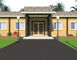 #30 for Front elevation single story house af shahidullah79