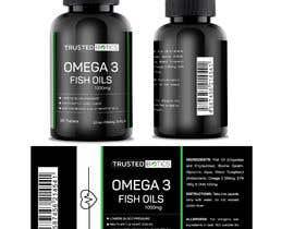 Nro 11 kilpailuun Design label for vitamins bottle käyttäjältä designeremrul