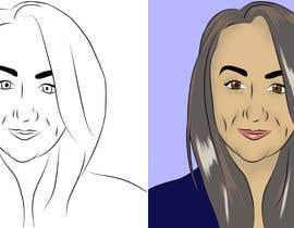 #33 para Sketches of head shots for website por CiroDavid